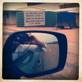 Leaving Western Australia