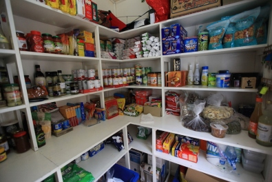 the pantry at the start